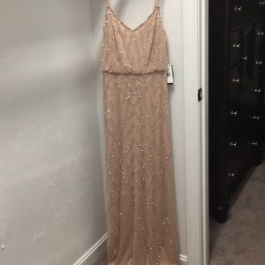 Blush Beaded Formal Dress